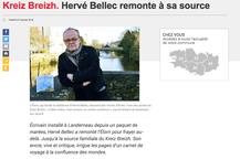 Kreiz Breizh. Hervé Bellec remonte à sa source