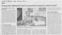 Françoise Gehannin dans Ouest France
