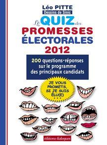 Le Quiz des promesses électorales 2012