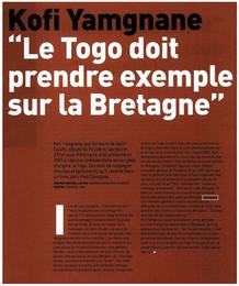 """Dans le magazine """"Bretons"""", DOSSIER (nov 13)"""
