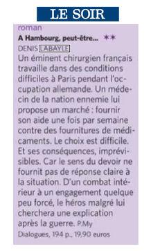 Le Soir – Pierre Maury