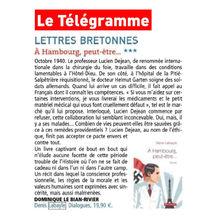 Le Télégramme - Dominique Le Bian-Rivier